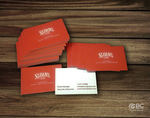 Bc printing print signage design business cards compliment slips presentation folders booklets headed paper order of service menus banners window stickers shop fronts vehicle graphics reheart Images